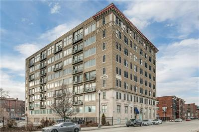 Detroit Condo/Townhouse For Sale: 2915 John R Street #212