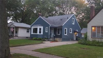 Berkley Single Family Home For Sale: 2727 Tyler Avenue