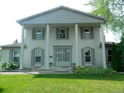 Livonia Single Family Home For Sale: 36523 Whitcomb Street
