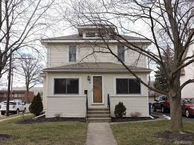 Plymouth Single Family Home For Sale: 194 Rose Street