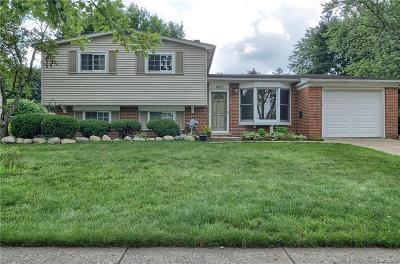 Commerce Single Family Home For Sale: 8655 Buffalo Drive