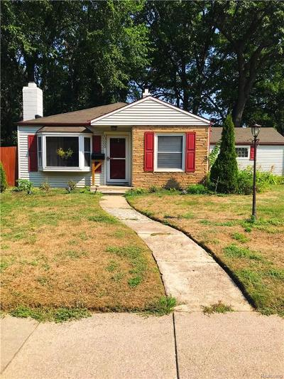 Oak Park Single Family Home For Sale: 10600 Oak Park Boulevard