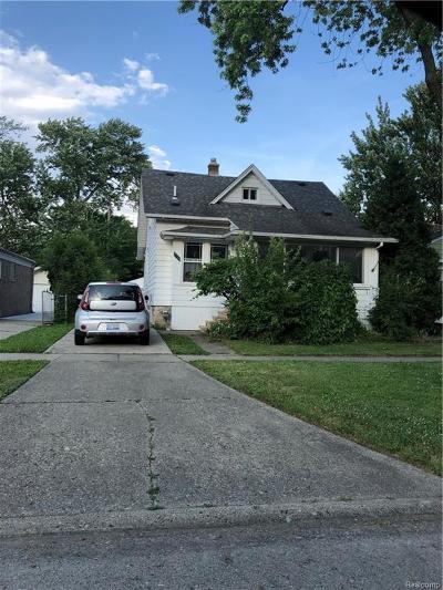 Berkley Single Family Home For Sale: 3036 Buckingham Avenue