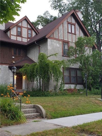 Detroit Single Family Home For Sale: 8129 Saint Paul Street