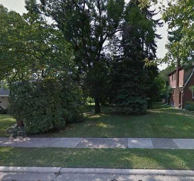 Royal Oak Residential Lots & Land For Sale: 3211 Prairie Avenue