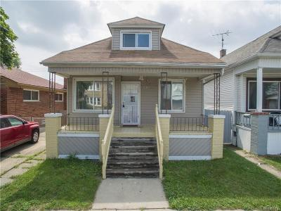 Hamtramck Single Family Home For Sale: 3970 Belmont Street