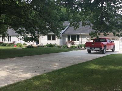 Bruce Twp Single Family Home For Sale: 79369 Weyer Road