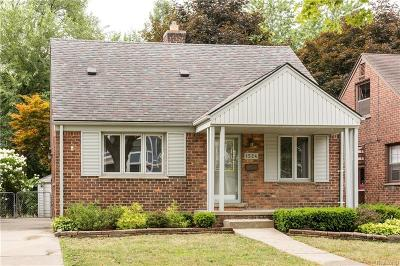 Birmingham Single Family Home For Sale: 1524 Emmons Avenue