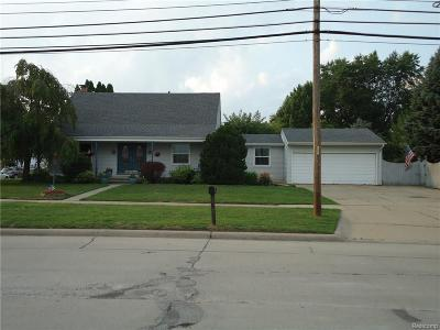 Warren MI Single Family Home For Sale: $209,000