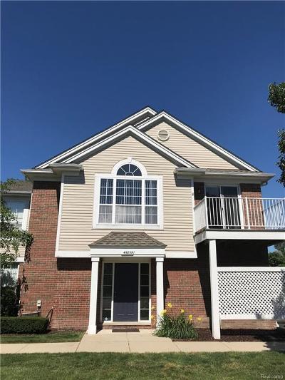 Macomb Twp Condo/Townhouse For Sale: 45859 Heather Ridge Drive