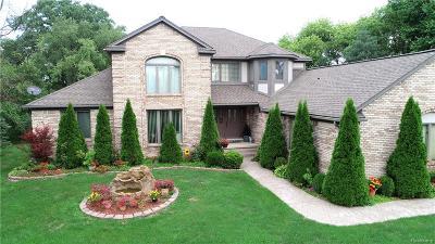 Washington Twp Single Family Home For Sale: 14805 27 Mile Road