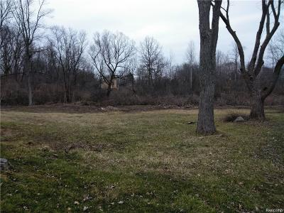 West Bloomfield Twp Residential Lots & Land For Sale: 1234 Fieldview
