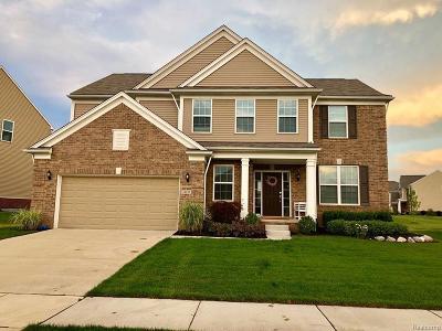 South Lyon MI Single Family Home For Sale: $449,500