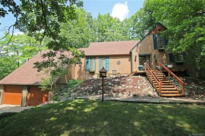 Addison Twp Single Family Home For Sale: 3000 Indian Lake Road