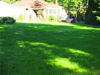 Allen Park Residential Lots & Land For Sale: Niver Avenue