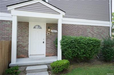 Novi Rental For Rent: 23673 Stonehenge Boulevard