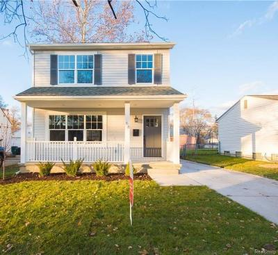 Madison Heights MI Single Family Home For Sale: $224,900
