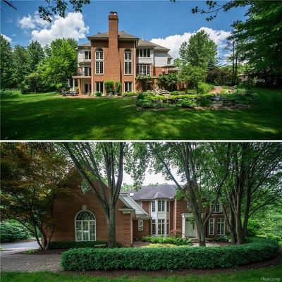Rochester, Rochester Hills Single Family Home For Sale: 5240 Stonehenge Drive