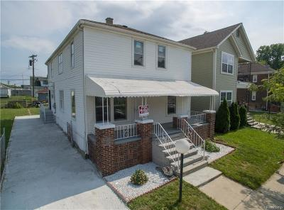Hamtramck Single Family Home For Sale: 5154 Yemans Street