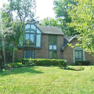 Farmington Hills Single Family Home For Sale: 38817 Westchester