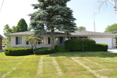 Clay Twp MI Single Family Home For Sale: $279,900