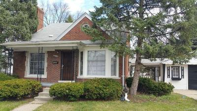 Detroit MI Single Family Home Pending: $45,000