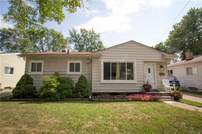 Royal Oak Single Family Home For Sale: 1514 Millard Avenue