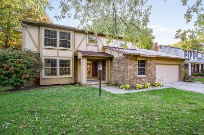 Troy Single Family Home For Sale: 3120 Newport Court