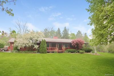 Single Family Home For Sale: 8769 N Territorial