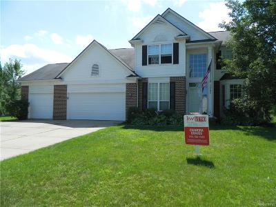 Lake Orion, Orion Twp, Clarkston, Independence Twp, Oxford Single Family Home For Sale: 3283 Cranbrook Court