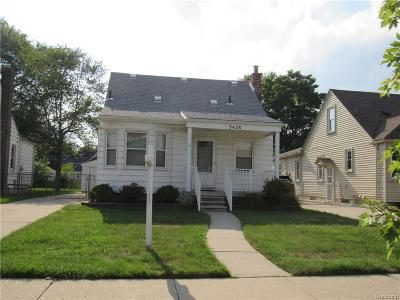 Dearborn Single Family Home For Sale: 3428 Pardee