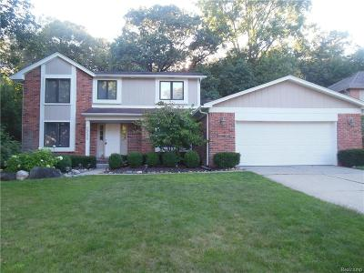 West Bloomfield Single Family Home For Sale: 2236 Kiev Court