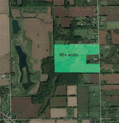 Howell Twp Residential Lots & Land For Sale: N Burkhart Road