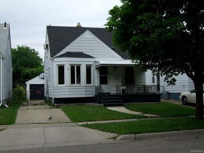 Ferndale, Royal Oak, Berkley Single Family Home For Sale: 827 Channing Street