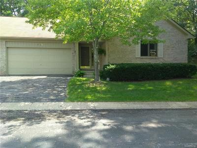 Commerce Twp Condo/Townhouse For Sale: 4602 Benstein