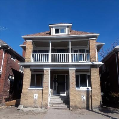 Detroit Multi Family Home For Sale: 1686 Elmhurst Street