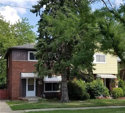 Oak Park Single Family Home For Sale: 24236/24230 Coolidge Highway