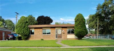 Garden City, Westland, Plymouth Twp, Canton Twp Single Family Home For Sale: 32508 James Street