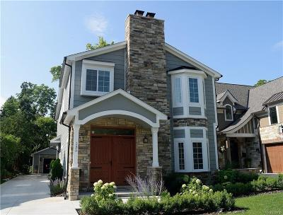 Rochester, Rochester Hills Single Family Home For Sale: 135 Glendale Avenue