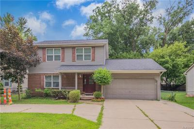 Farmington Hills Single Family Home For Sale: 21714 Wheeler Street
