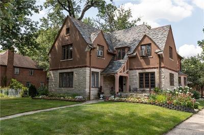 Detroit Single Family Home For Sale: 18695 Fairfield Street