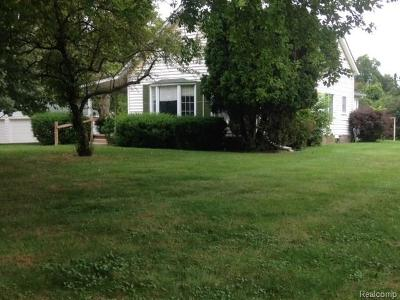 Romeo Vlg, Bruce Twp, Washington Twp Single Family Home For Sale: 7841 36 Mile Road