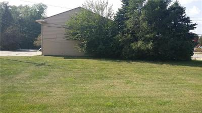 Oakland County Commercial Lots & Land For Sale: 6743 Highland Road
