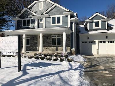 Birmingham MI Single Family Home For Sale: $1,099,000
