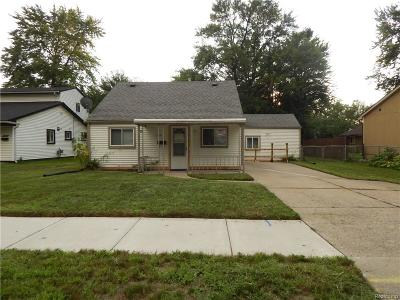 Livonia Single Family Home For Sale: 12235 Cavell Street