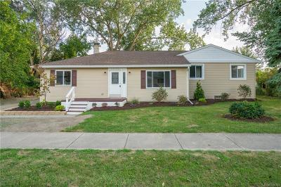 Shelby Twp, Utica, Sterling Heights, Clinton Twp Single Family Home For Sale: 20200 Colman Street