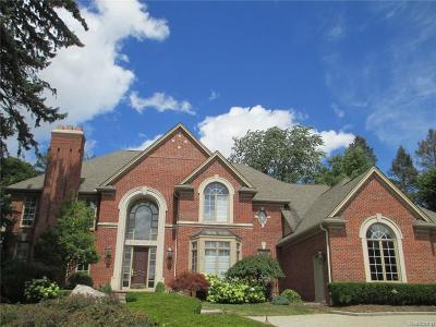 Bloomfield Hills Single Family Home For Sale: 36 Pine Gate Drive