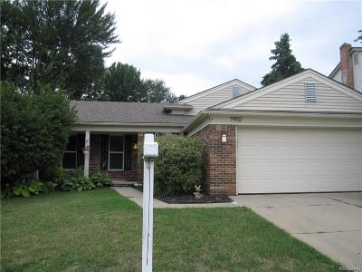 Canton Single Family Home For Sale: 7950 Charrington Drive