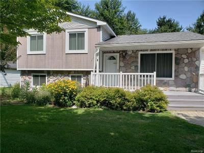 Waterford Single Family Home For Sale: 5462 Crescent Road