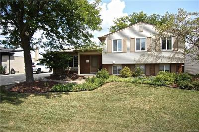 Shelby Twp, Utica, Sterling Heights Single Family Home For Sale: 39422 Byers Drive